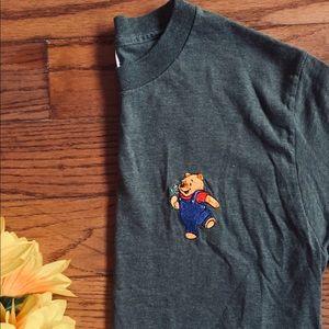 ⚡️Vintage Khaki Winnie the Pooh Tee⚡️